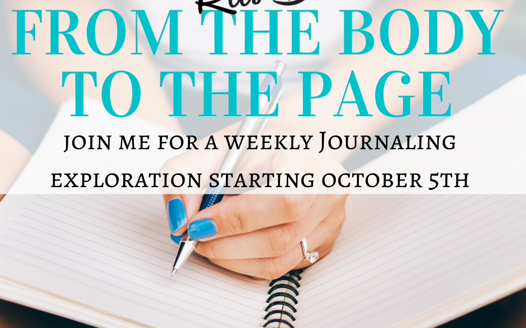 Do you have a journaling practice? and a poem for you!
